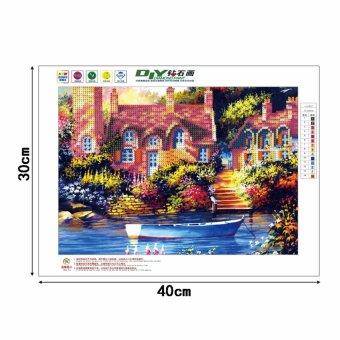 DIY 5D Diamond Embroidery Painting Cross Stitch Art Craft HomeOffice Decor X142 (40x30cm) - intl - 2