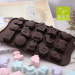 DIY cartoon silicone chocolate baking Mold