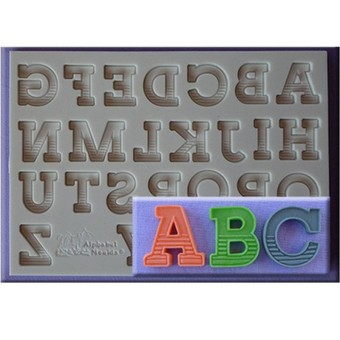 DIY English Letter And Number Silicone Mould Fondant Alphabet Cake Mold - intl Price Philippines