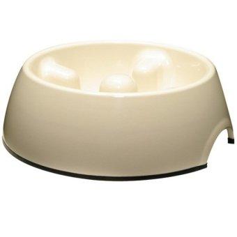 Dogit Anti-Gulping Bowl Small (White)