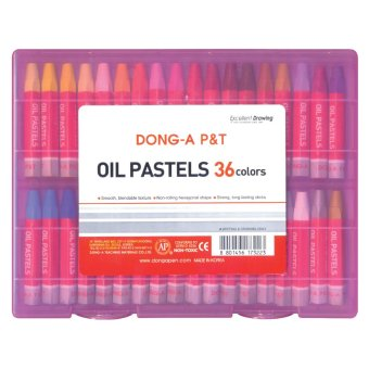 Dong-A Hexagonal Oil Pastels 36 colors