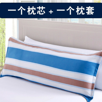 Double can be M1 romantic washed long student double pillow