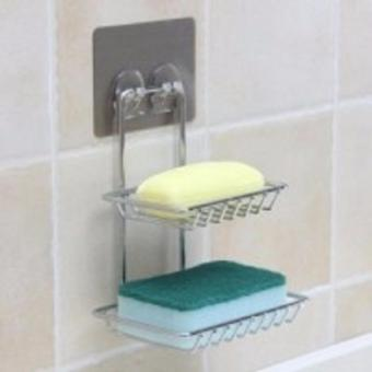 Double Layer Soap Holder (Chromed Metal) SQ-5061