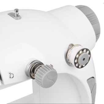Double Thread Sewing Machine (White/Gray) - picture 3