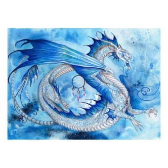 Dragon Skies 5D Diamond DIY Painting Craft Home Decor - intl