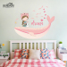 Dream Cartoon children's room adhesive paper bedroom wall sticker