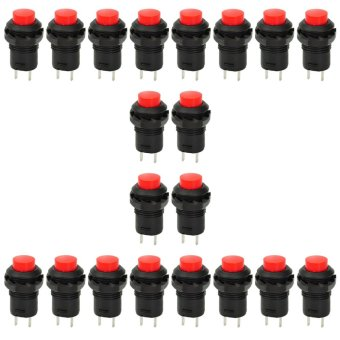 DS-426 Non-Locking Push Button Switch (20-Piece Pack)