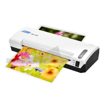 DSB HQ-236 A4 Photo Hot Cold Laminator Free Paper Trimmer Cutter1.5-2min Warm Up 400mm/min Fast Speed for 80-125mic Film Laminatingwith Jam Release EU Plug - intl