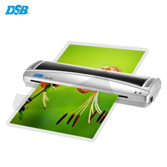 DSB HQ-335 A3 Photo Hot Cold Laminator 2 Roller Quick Warming Up Fast Laminating Speed for 80-125mic Film Laminating with Jam Release EU Plug - intl