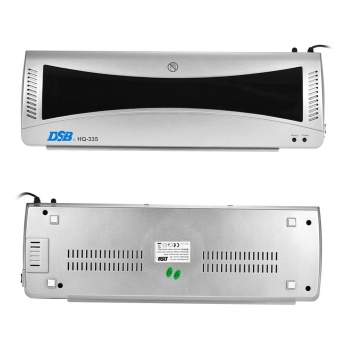 DSB HQ-335 A3 Photo Hot Cold Laminator 2 Roller Quick Warming Up Fast Laminating Speed for 80-125mic Film Laminating with Jam Release EU Plug - intl - 4