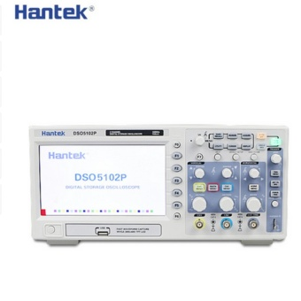 DSO5102P Digital Oscilloscope Portable 100MHz 2Channels 1GSa/s Record Length 40K USB LCD Handheld Osciloscopio 7 Inch - intl