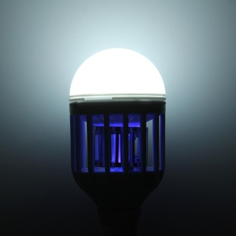 E27 12W Fly Pest Insects Reject Zapper Mosquito Killer LED Ball Steep Light Bulb Lamp, AC 175-260V - intl - 5