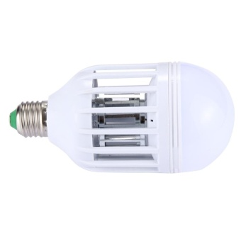 E27 12W Fly Pest Insects Reject Zapper Mosquito Killer LED Ball Steep Light Bulb Lamp, AC 175-260V - intl - 3