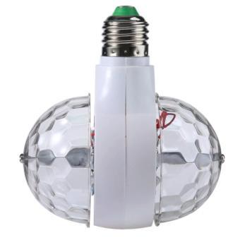 E27 3W LED double-sided color rotating bulb Crystal Stage Light Christmas lights - 2