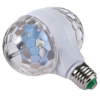 E27 3W LED double-sided color rotating bulb Crystal Stage Light Christmas lights - 3