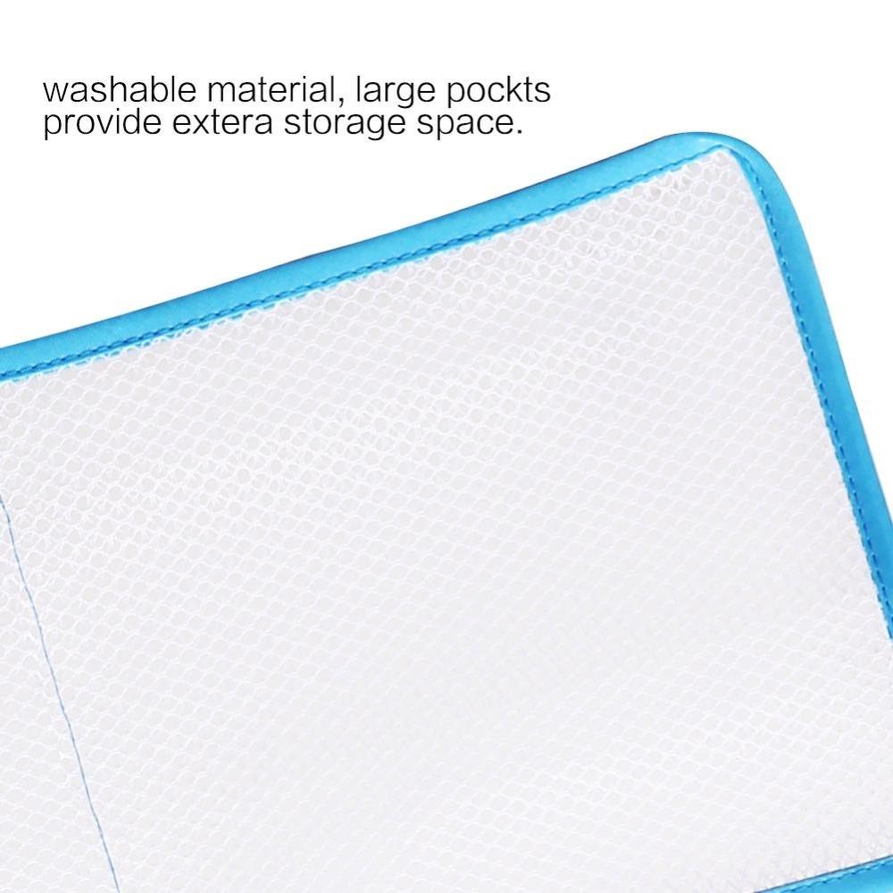 ... Eason Green Mesh Bath Shower Organizer 6 Storage Pockets HangingCaddy,  Bathroom Accessories, Space Saving ...