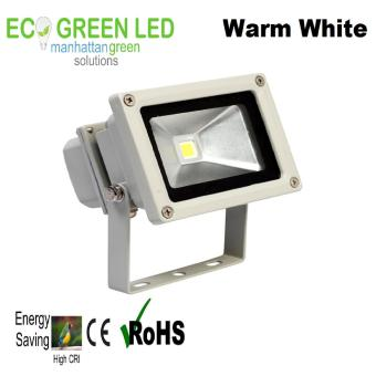 EcoGreen 10 watt Outdoor LED Floodlight (Warm White) WaterproofIP65