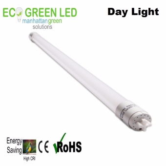 EcoGreen European Quality T8 18W LED Plastic Tube Light