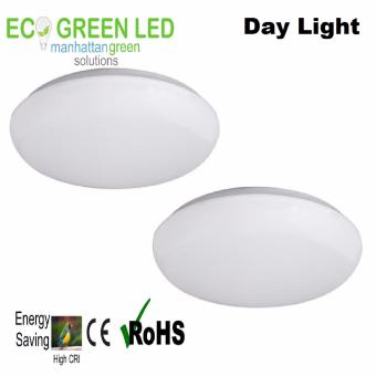 Ecogreen Prime Essentials 10 watt LED Ceiling light Set of 2