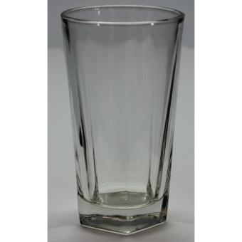 Edge Thin Clear Glass Tumbler 10 oz Set of 6 (Clear)