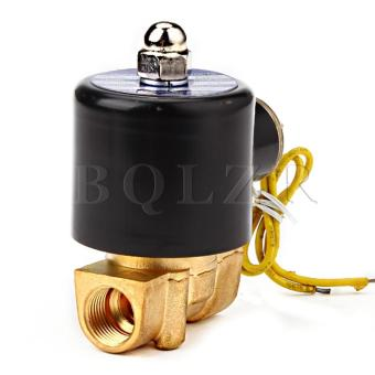 Electric Solenoid Valve Gas Water Air Black - picture 2
