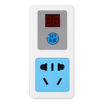 Electrical AC Digital Energy-saving Timer Switch Socket (24 Hours)- intl