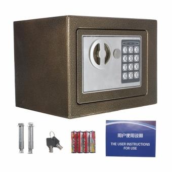 Electronic Safe Box Digital Security Keypad Lock Office Home Hotel US Browm - intl - 4