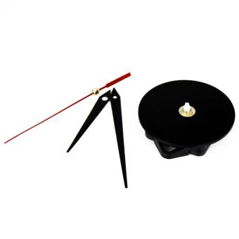 Elenxs Black Quartz Clock Movement Mechanism Repair DIY Tool Kit + Black Hands Hot