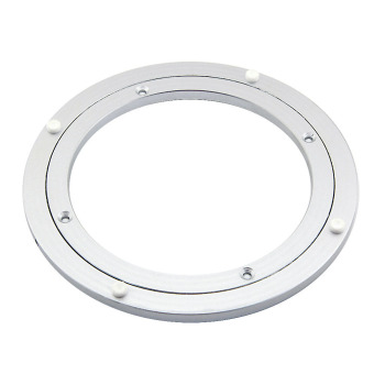 eMylo Diameter 250mm Aluminum Lazy Susan Turntable Bearings for Dining-table