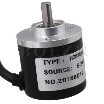 Encoder 600P/R Incremental Rotary Encoder Black - 5