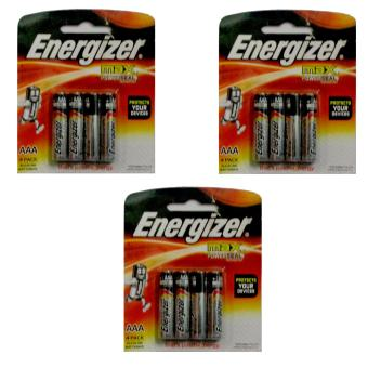 Energizer Battery AAA set of 3