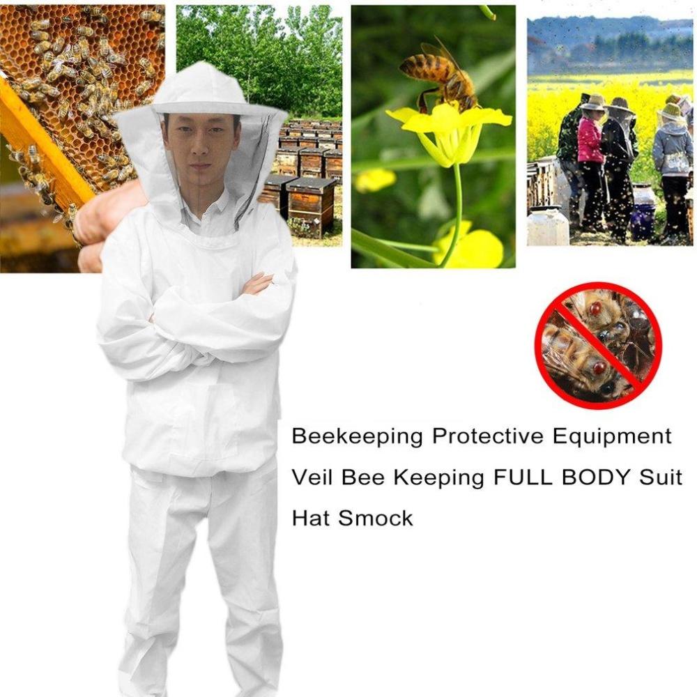 ... ERA Beekeeping Protective Equipment Veil Bee Keeping FULL BODY Suit Hat Smock XXL intl Philippines