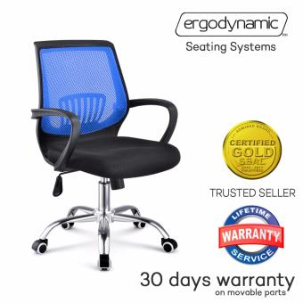 Ergodynamic EMC-P17 BLU Tilting Mesh Office Chair (Blue) Price Philippines
