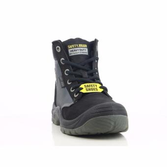 [EU SIZE 43] Safety Jogger Dakar Steel Toe Cap and Steel Midsole Safety Shoes (Black) - 3