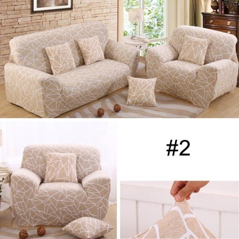 European Style Stretch Sectional Sofa Soft Slipcovers Elastic CouchCover For Single Seats - intl