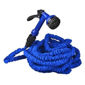 Expandable Garden Hose up to 125 ft (Blue)