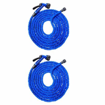 Expandable Garden Magic Hose up to 150 ft (Blue) SET OF 2