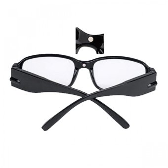 Eyeglasses with Rechargeable LED and UV Light (Black) - picture 2