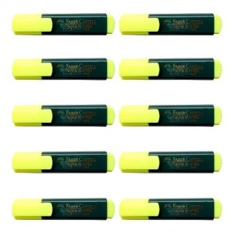 Faber Castel Highlighter 10's Yellow Price Philippines
