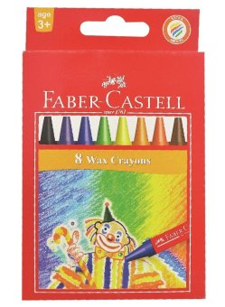 Faber-Castell Crayons 8 Colors (12 sets) Price Philippines