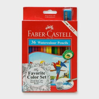 Faber Castell Watercolor Pencil 36s Set