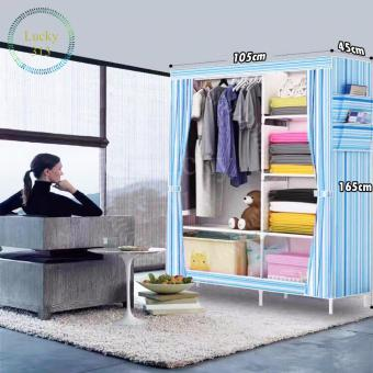 Fashion Cloth Storage Cabinet (Blue)