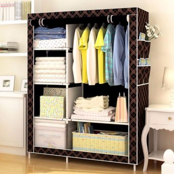 Fashion Wardrobe Closet (Chocolate)