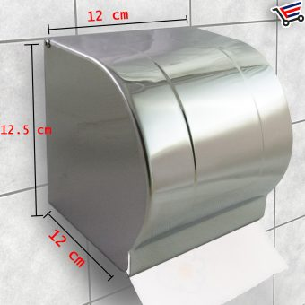 Fashionable Stainless Steel Wall Mounted Bathroom Tissue HolderDispenser