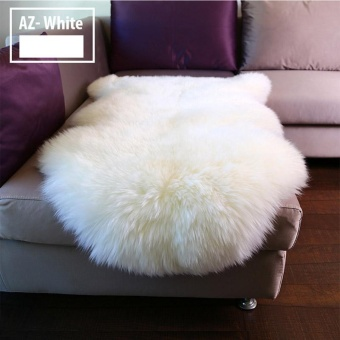 Faux Fur Carpet Rugs Chair Sofa Cover Pad Living Room Floor Mat 60x90cm - intl