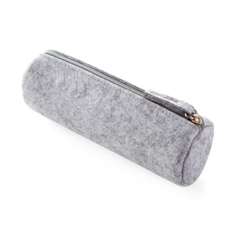 Felt zip lead pencil case