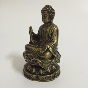 Feng Shui Buddha Statue For Home Office Decoration Bronze ShakyaMuni Buddha  Statue Handicraft - intl ...