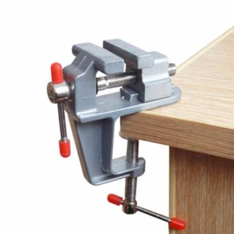Fengsheng Clamps Mini Aluminum Bench Table Swivel Lock Clamp Vice Craft Jewelry Hobby Vise Bench Vise - intl