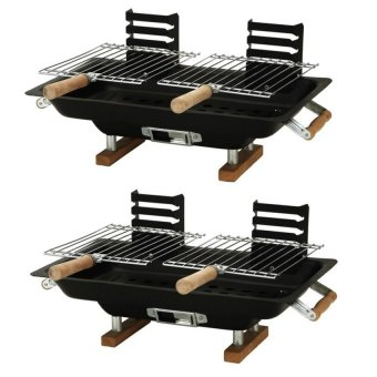 FH-8317 All-Steel Hibachi Griller Set of 2 (Black) Price Philippines