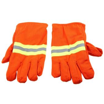Fire Protective Gloves Fire Proof Heat Proof WaterproofFlame-retardant Non-slip Fire Fighting Anti-fire Gloves Tomnet -intl